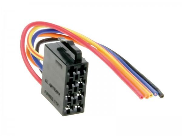 Umrüstadapter Strom ISO Stecker (1433-02)