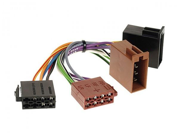 ISO Radioanschlusskabel Audi/Skoda/Volkswagen (1320-02)
