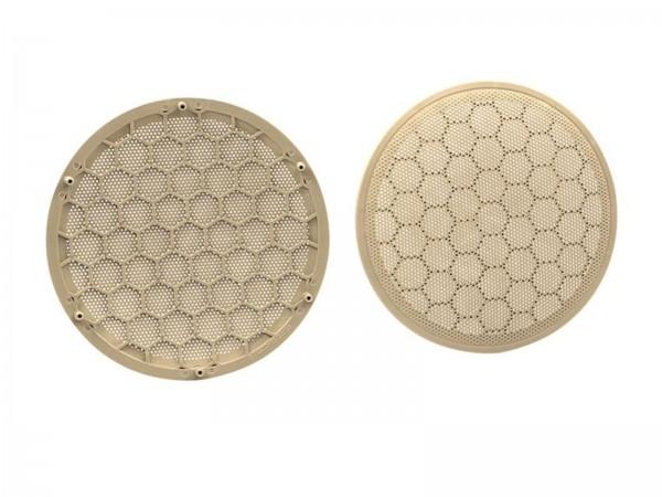 165mm Lautsprecher-Gitter beige Seat/Volkswagen