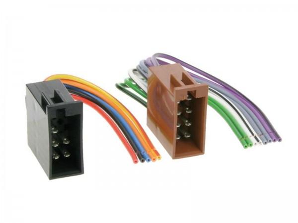 ISO Umrüstadapter Buchse Strom und Lautsprecher