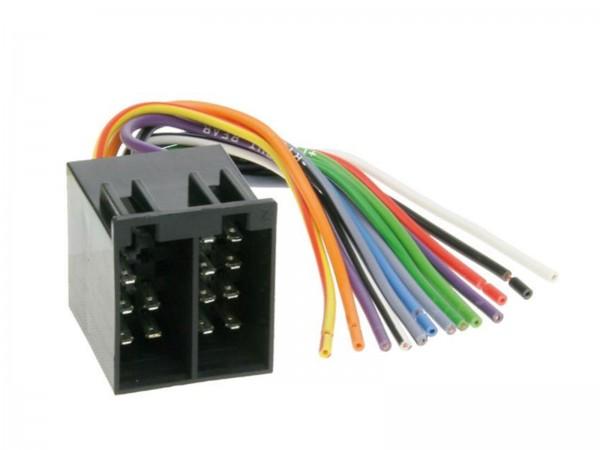 ISO Umrüstadapter Strom und Lautsprecher (1230-00)