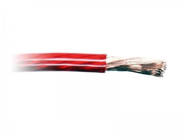 6 mm² Kabel Stromkabel - rot
