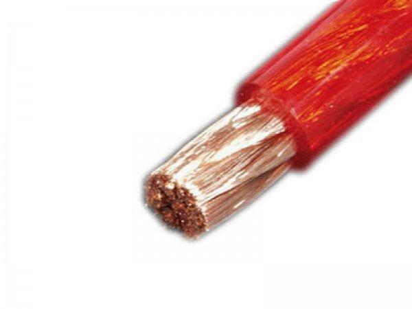 DIETZ 10 mm² Kabel Stromkabel - rot