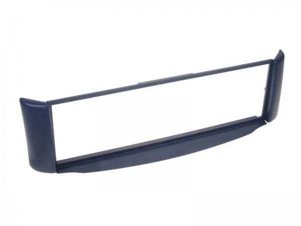 1-DIN Radioblende blau Smart ForTwo