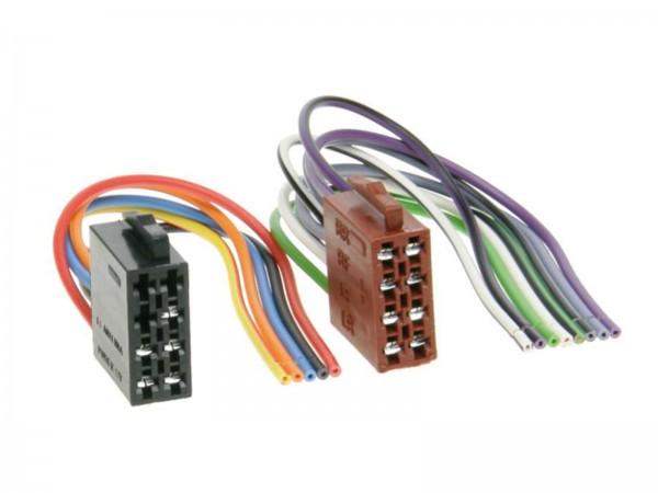 ISO Umrüstadapter Stecker Strom und Lautsprecher