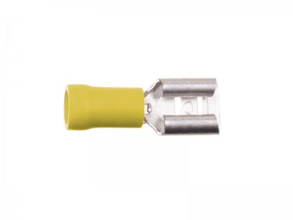 Flachsteckhülsen 6,3mm 4 - 6,0 mm² (346301-3p)