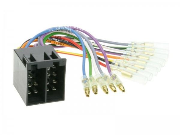 ISO Umrüstadapter Strom und Lautsprecher (1230-04)