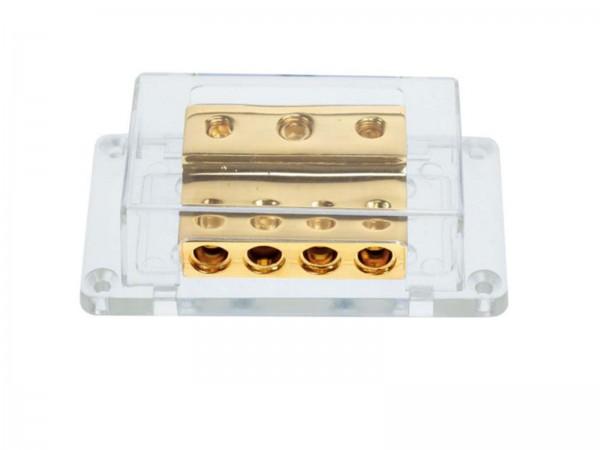 Verteilerblock vergoldet (30.3601-05)