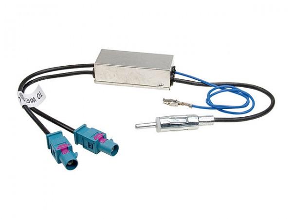 DIN-Antennenadapter 2x Fakra (1524-07)