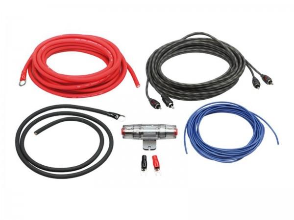 Endstufeneinbaukit Kabelset Endstufe 10mm²