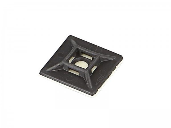 Montagesockel für Kabelbinder max. 4,6mm (366000)