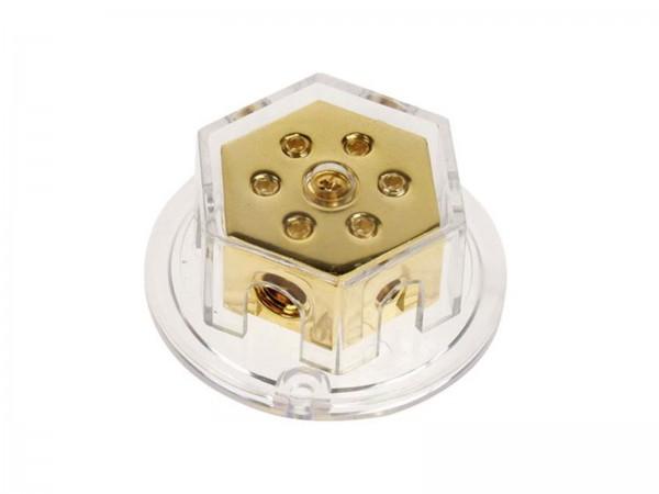 Verteilerblock vergoldet (30.3602-03)