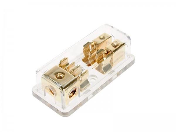 AGU Sicherungsverteilerblock vergoldet (30.3701-02)