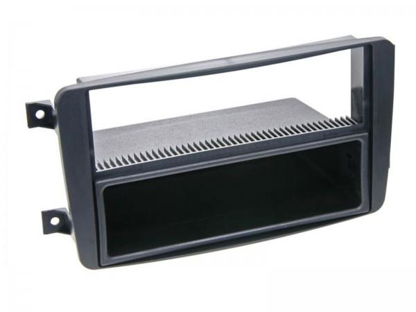 Doppel-DIN Radioblende mit Ablagefach Mercedes (281190-02)