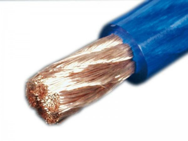 DIETZ 35 mm² Kabel Stromkabel - blau