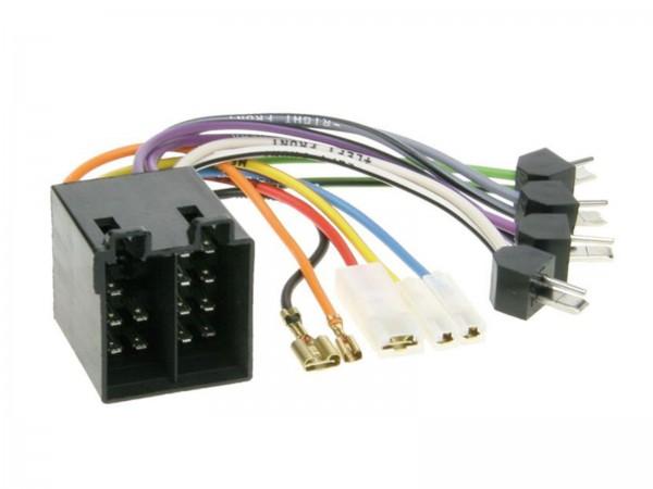 ISO Umrüstadapter Strom und Lautsprecher (1230-01)